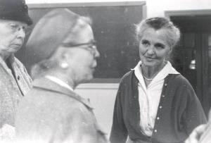 Ava Helen Pauling. 1950s