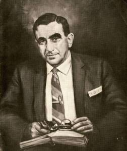 Portrait of Edward Teller by Dmitri Vail. June 1965.