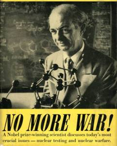 """No More War!"" 1958."