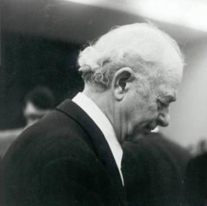 Linus Pauling. Oslo, Norway. December 21, 1963