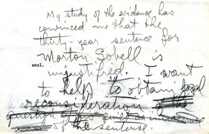 Handwritten statement by Linus Pauling, September 1953
