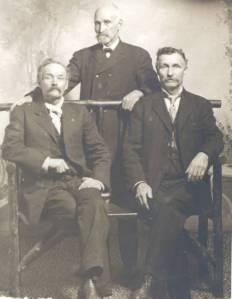 William Darling, William Darling Jr. and Linus Wilson Darling, ca. 1870.