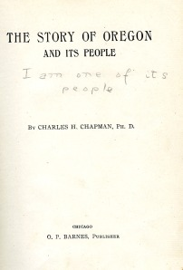 Annotations by Linus Pauling, ca. 1910.