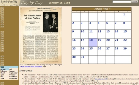 fig. 1 Day Page view