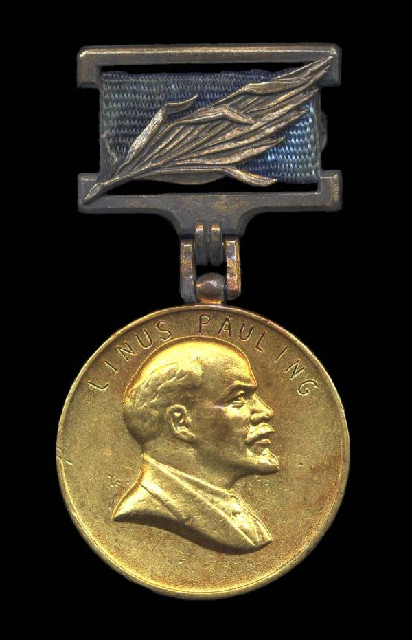Lenin Peace Prize medal, June 15, 1970
