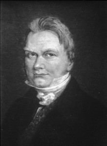 Portrait of Jöns Jacob Berzelius.  Image courtesy of the Michigan State University department of Chemistry.