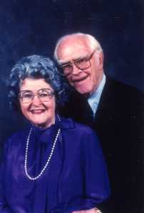 Pauline and Paul Emmett, 1980s.