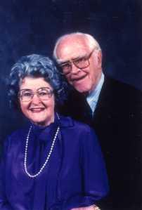 Pauline and Paul Emmett, 1980s.