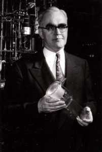 Emmett in the laboratory, 1950s