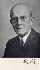 Portrait of Oswald T. Avery, ca. 1940s.