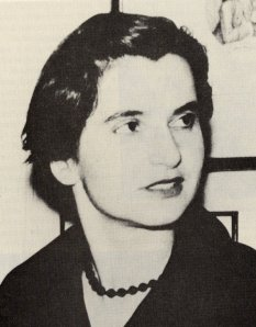 Rosalind Franklin, March 1956