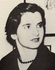 Rosalind Franklin, March 1956