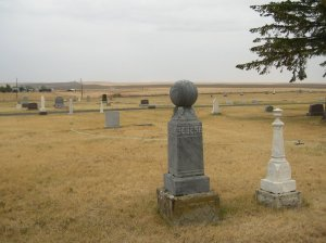 The Condon Cemetary.