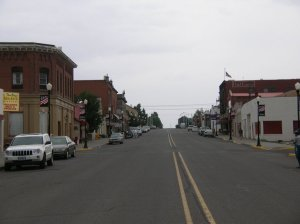 Main Street, Condon, Oregon. August 2009.