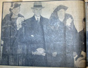 William P. Murphy and family en route to Sweden.  Image first published in the Sunday Oregonian, July 21, 1935.