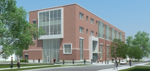 Artist's rendering of the Linus Pauling Science Center