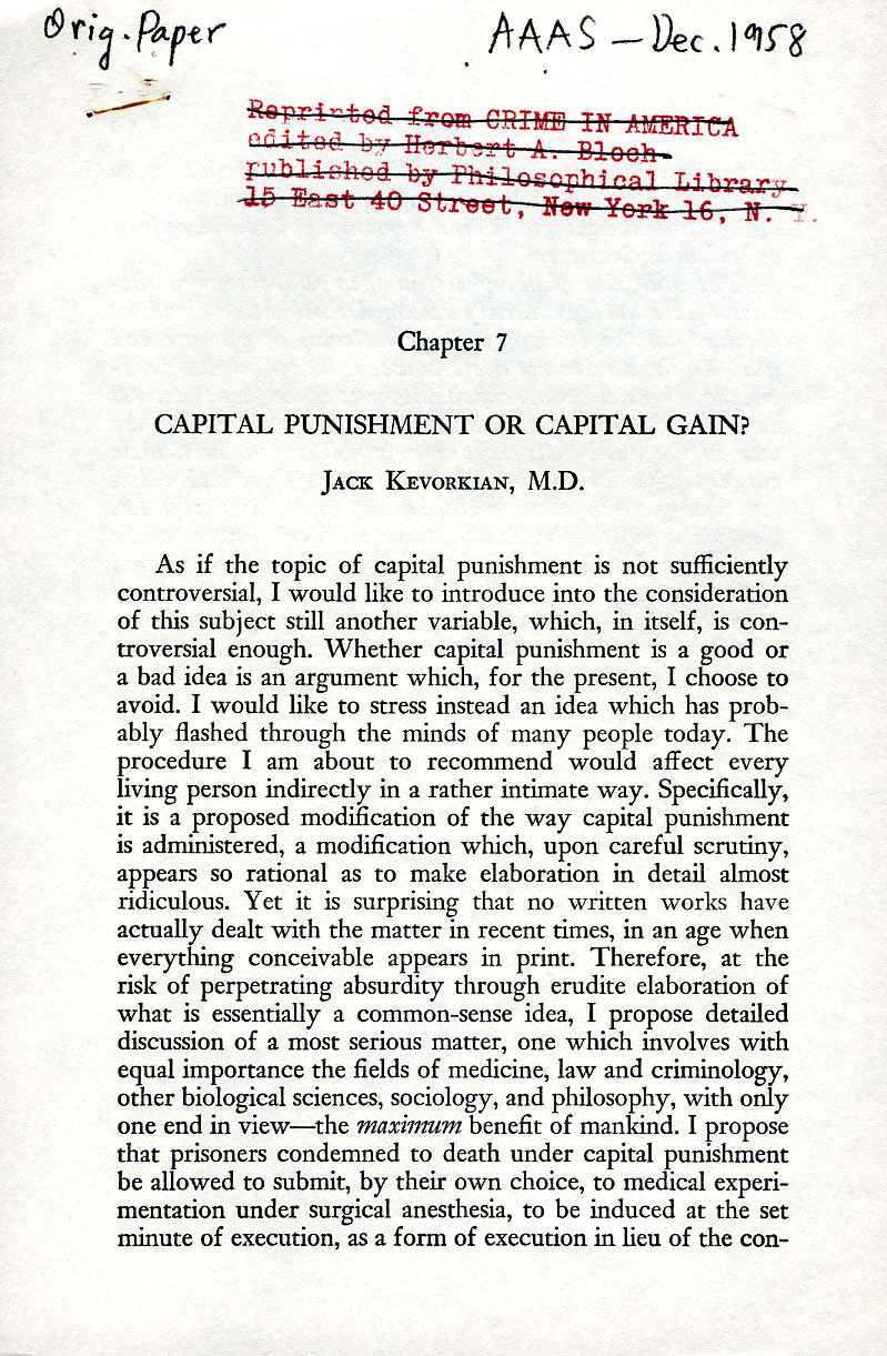 capital punishment and complainants essay The use of capital punishment greatly deters citizens from committing crimes such as murder death penalty persuasive essay | shannon rafferty e-portfolio.
