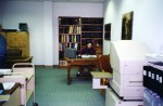 The University Archives reading room in the basement of Kerr Administration Building, 2002.