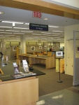 The University Archives reading room on the third floor of the Valley Library.