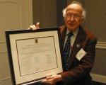 Roald Hoffmann, 2012 Pauling Legacy Award winner.