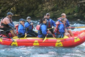 Rafting on the McKenzie River, Labor Day weekend, 2012.