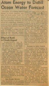 Publication Unknown, ca. June 1947.