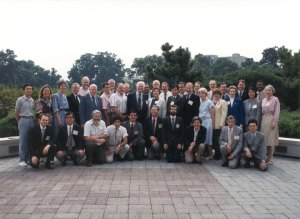 Participants in the NCI symposium on Vitamin C and Cancer, Bethesda, Maryland, September 1991
