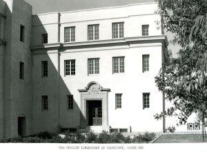 The Crellin Laboratory, ca. 1938.