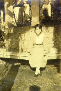 Ava Helen Miller, 1920.