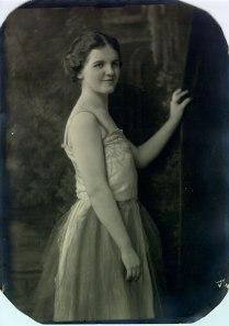 Ava Helen Miller, 1922.