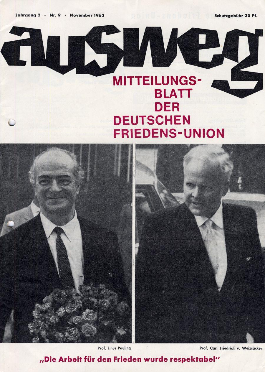 Ausweg, November 1963.  Mr Cavendish I Presume