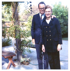 Emile and Jane Zuckerkandl, October 1970.  Image courtesy of the Esther M. Lederberg Collection.