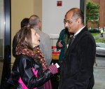 Dr. Mian with former OSU Libraries Resident Scholar, Linda Richards.