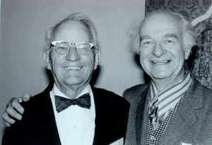 Roger J. Williams and Linus Pauling, 1972.