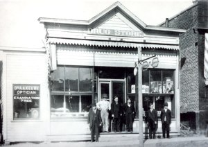 Condon drug store, early 1900s.