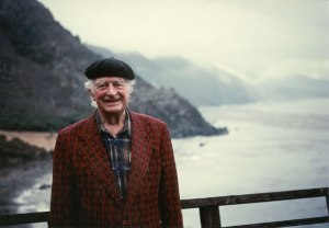 Pauling in 1989 - an extraordinary life. Photo by Paolo M. Sutter.