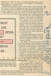 Examples of annotations made by Pauling to his copy of