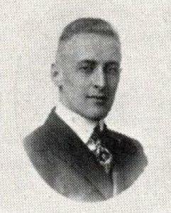 Paul Harvey, as seen in the 1919 Beaver Yearbook.