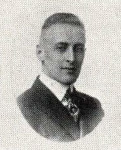 Paul Harvey, as seen in the 1919 Beaver Yearbook.
