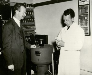 Pauling and Campbell, 1943.