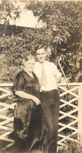 Paul Emmett with his mother, ca. 1920s.