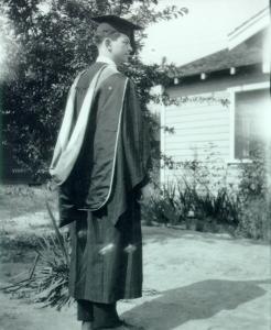 Graduation day, 1925.