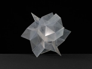 Unidentified crystal structure, likely not created by Pauling and perhaps used as a teaching aid. Ca. 1950s?