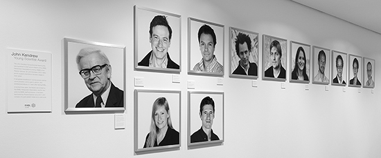 Jojn Kendrew Award gallery, EMBL ATC 11.2016